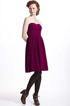 lovely magenta dress