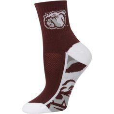 Mississippi State Bulldogs Women's Zoom Quarter-Length Socks