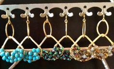 The Goddess earring by EmilyGailCollections on Etsy, $45.00