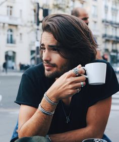Hot Guys Drinking Coffee | POPSUGAR Love & Sex