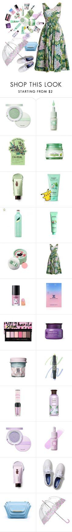 """HEAT-BEAUTY STROKE🌞"" by elen25 ❤ liked on Polyvore featuring beauty, Etude House, peripera, Innisfree, TONYMOLY, The Face Shop, Dolce&Gabbana, JayJun, Keds and Ellia Wang"