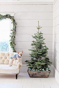 So charming!!! Rustic Christmas Tree