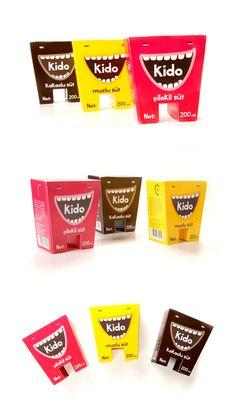 Kido milk packaging