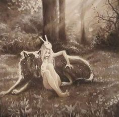 Wolf and Girl by James O'Barr and Chiara Bautista