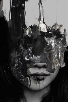 all art in this morph by Januz Miralles morph .gif animation by George RedHawk… Glitch Kunst, Glitch Art, Arte Gcse, Gcse Art, A Level Art, Art Sketchbook, Photo Manipulation, Dark Art, Art Inspo