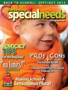Advocacy and managing school papers tips in September/October issue of Parenting Special Needs Magazine.