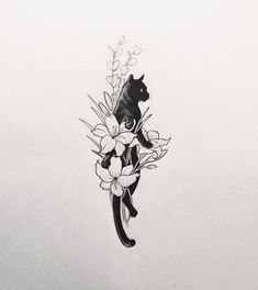 Small, simple, lucky cat tattoo designs