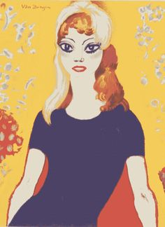 """firsttimeuser: """"Brigitte Bardot and Kees van Dongen, 1959 Foto-Post """""""