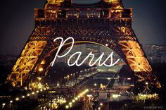 We all want to go to Paris. Some days whilst sipping my afternoon tea, I think of all the people I'll meet and the places I'll see. We all want to go to Paris. Oh Paris, Paris At Night, Paris 2015, Oh The Places You'll Go, Places To Travel, Places To Visit, Torre Eiffel Paris, Hotel Des Invalides, Paris Lights