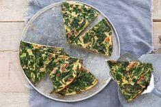 Kickstart je dag met een stevig ontbijt. Deze omelet zit tjokvol spinazie. Popeye zou er jaloers op zijn! - Recept - Allerhande