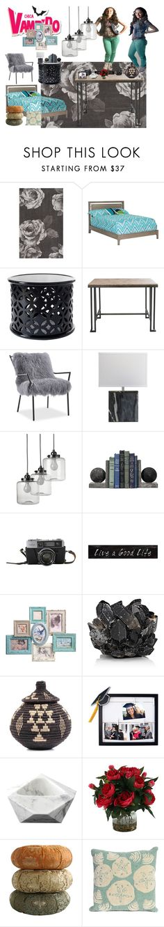 """Chica vampiro ⏰⏰⏰"" by julia-clv ❤ liked on Polyvore featuring interior, interiors, interior design, home, home decor, interior decorating, PBteen, DutchCrafters, West Elm and 3R Studios"