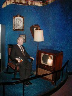 Universal Studios Florida Alfred Hitchcock Art of Making Movies Display