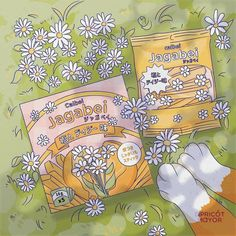 Kawaii Wallpaper, Cute Wallpaper Backgrounds, Cute Wallpapers, Daisy Wallpaper, Aesthetic Themes, Aesthetic Art, Aesthetic Anime, Kawaii Drawings, Cute Drawings