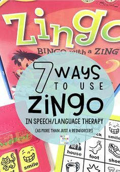 How to use Zingo in speech/language therapy as more than just a general reinforcer