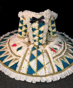 """Harlequin Doll Tutu for """"The Nutcracker"""" - by Heather Lerma"""