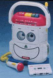 1990s Toys for Girls | Description The Rockin' Robot cassette player/recorder has AM/FM radio ...
