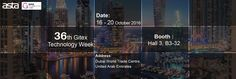 ASTA 36th #GitexDubai Technology Week Expo We are ready for you need us !Welcome to visit us ! EXPO name:36th Gitex Technology Week Booth:Hall 3, B3-32 Date:16-20 October 2016 Address:Dubai World Trade Centre, United Arab Emirates Product Range :#Compatibletonercartridge #CopierTonerKit #PrintingConsumablesParts E-mail:evelyn@astatoner.com marketing@astatoner.com Skype:astatoner-marketing To be Agent : http://www.astatoner.com/agent-application