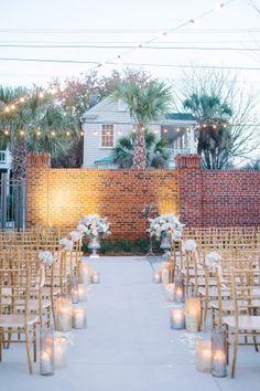 Jillian & Daniel – Sweetgrass Social - Cedar Room in Charleston, SC - Ceremony - Aaron & Jillian Photography