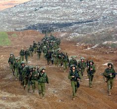 This photo of IDF soldiers coming back from Lebanon.