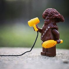 """""""Hair Wars"""" Congratulations to the LEGO HUB Photographer of the Day: . ..."""