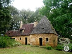 old house in the black Perigord - France