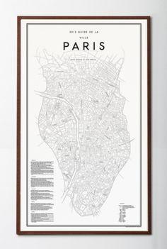 Posters / David Ehrenstråhle 2012 Guide de la ville paris | Details | Artilleriet