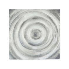 Maison du monde Toile peinte main blanche 100 x 100 cm COSMOS 69,99 €