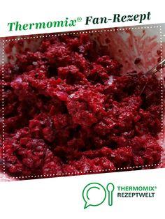 Rote Bete Salat, vegan von Miss Quinoa Öko. Ein Thermomix ® Rezept aus der Kategorie Vorspeisen/Salate auf www.rezeptwelt.de, der Thermomix ® Community.