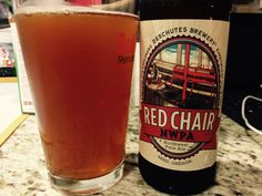 Beer #101. 4/1/15. Red Chair NW Pale Ale. A cloudy pour, glowing amber color with a definitive taste. Got a case of these bottles from CostCo! We're spoiled in WA. 3.5 Stars.