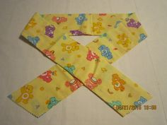 """Extra Wide 3"""" Reusable Non-Toxic Cool Wrap / Neck Cooler  - Kids Prints - Girls/Boys - Care bears - CLEARANCE by ShawnasSpecialties on Etsy"""