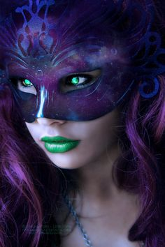 Galaxy Mask by ~VampyrEmpress