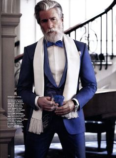 Aiden Shaw Dons Luxe Suits for The Rake Magazine image Aiden Shaw Model 2014 008