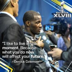 Go Seahawks! Seahawks Football, Best Football Team, Seattle Seahawks, Derrick Coleman, Super Bowl Xlvii, 12th Man, Great Quotes, In This Moment, My Love