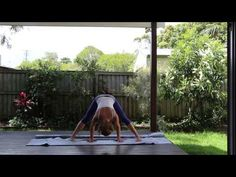 Anusara Style Home Practice Yoga Sequence Part 1 - YouTube