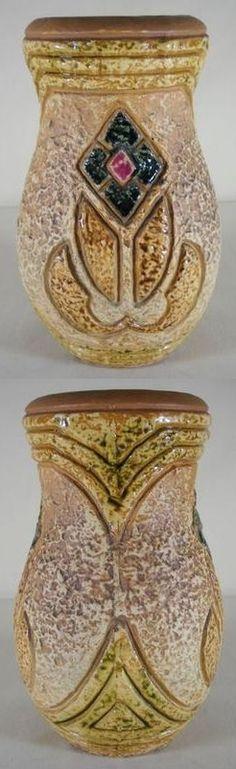 """Roseville Pottery, Mostique, 8"""" vase"""
