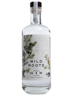 A Northwest twist on the classic London Dry Gin. Made with juniper berries from Central Oregon to create a handcrafted Wild Roots spirit. O Gin, White Spirit, London Dry Gin, Brand Me, Gin And Tonic, Vodka Bottle, Roots, Berries, Alcohol