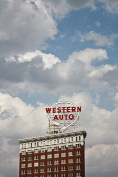 Kansas City, Missouri. Western Auto building