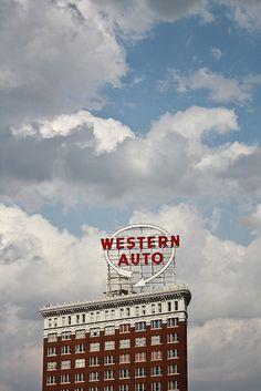 Kansas City, Missouri. Western Auto building