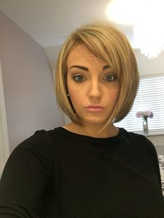 Blonde bob short hair cut - Hairstyles For All Short Hair Dos, Short Choppy Hair, Very Short Hair, Short Hair Styles, Hair Lights, Light Hair, Bob Hairstyles With Bangs, Short Hairstyles For Women, Straight Hairstyles