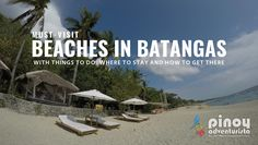List of top best beaches in Batangas that you might want to add in your bucket list. Save this Beach in Batangas near Manila for your summer getaway Cheap Weekend Trips, Weekend Getaways, Philippines Travel Guide, Beach Cove, Batangas, Verde Island, Destin Beach, Island Resort, Day Tours