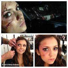 Nina Dobrev and Steven R. McQueen Get Bloody in Behind-the-Scenes Throwback Pics! http://sulia.com/channel/vampire-diaries/f/5932a954-d73c-4f14-81cb-bc10355f4386/?pinner=54575851&