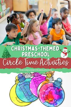 When planning your December lesson plans, make sure to add some of these Christmas circle time activities. A fun collection for toddlers and preschoolers! #Christmas #circletime #holidays #music #teachers #classroom #earlychildhood #preschool #toddler #teaching2and3yearolds Reindeer Song, Snowman Songs, Preschool Christmas, Christmas Mom, Toddler Preschool, Toddler Activities, Circle Time Activities, Time Planner, Sing Along Songs