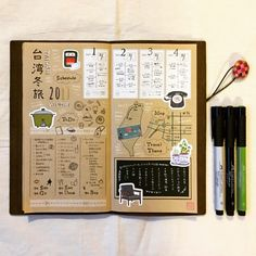 "@mini_minor on Instagram: ""★ Travel log note 027 ★ ・ 「台湾」旅の計画ガイドノート ""Taiwan""Travel guide plan Notebook ・ 今年最後の大きな旅は、大好きな台湾へ🌷 恒例の旅の計画ガイドノートをつくりました📕…"" Notes Design, Travel Themes, Travelers Notebook, Recipe Cards, Trip Planning, Bujo, Graffiti, Bullet Journal, Scrapbook"