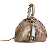 Christian Audigier Womens Cherie Baguette Handbag 3UV158RE  List Price: $150.00 Buy Now: $29.99