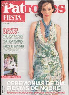 REVISTAS DE MANUALIDADES GRATIS: Patrones extra fiesta nº 14 2012