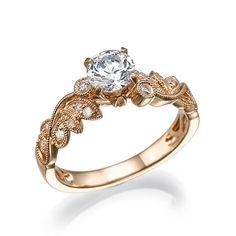 I'm honestly I  love this I am just UGH at https://www.etsy.com/listing/254749164/engagement-ring-moissanite-moissanite
