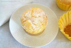 Fluffy Gluten Free Lemon and Yoghurt Muffins! - Sparkles in the Everyday! Lemon Dessert Recipes, Lemon Recipes, Delicious Desserts, Cake Recipes, Yummy Food, Yummy Recipes, Gluten Free Muffins, Gluten Free Cakes, Recipes