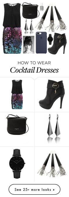 """Untitled #210"" by skylar0629 on Polyvore featuring Laona, Lancaster, CLUSE and Essie"