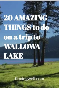 20 Amazing Things to do on a Trip to Wallowa Lake will encourage you to add this beautiful site to your Oregon bucket list. One of the best places to visit in Oregon, scenic Wallowa Lake will give you an amazing Oregon destination on an Oregon road trip to remember. Plan your Oregon travels and include one of the most beautiful places in Oregon. Explore Oregon and what it has to offer. Plan an Oregon adventure today! #oregonjourney #oregonvacationideas #traveloregon #campinginoregon…