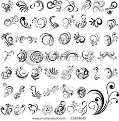 Find Vector Tattoo stock images in HD and millions of other royalty-free stock photos, illustrations and vectors in the Shutterstock collection. Thousands of new, high-quality pictures added every day. Tattoo Drawings, Body Art Tattoos, Sleeve Tattoos, Mehndi Designs, Tattoo Designs, Design Tattoos, Scroll Tattoos, Swirl Tattoo, Gray Tattoo